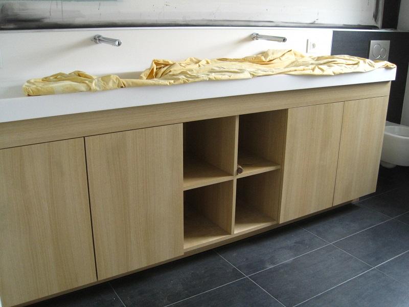 bibliotheque chene clair maison design. Black Bedroom Furniture Sets. Home Design Ideas