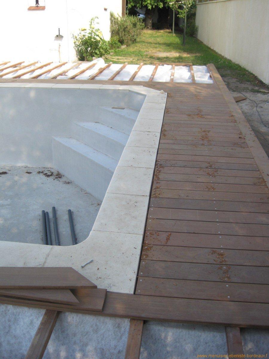 Pose de terrasse bois sur Bordeaux et Gironde  Atelier Wilmart