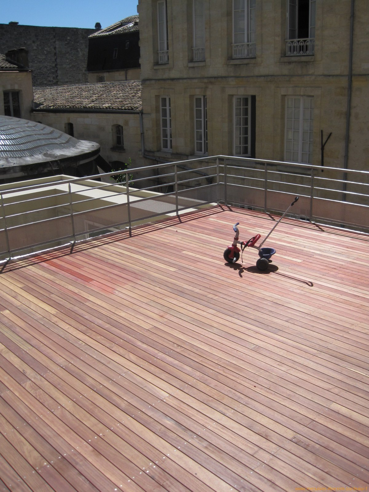 Terrasse Bois Bordeaux Pose Pictures to pin on Pinterest