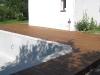 Terrasse finie : détail d\'un angle