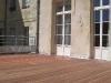La terrasse bois s\'intègre facilement à l\'ancien comme au moderne